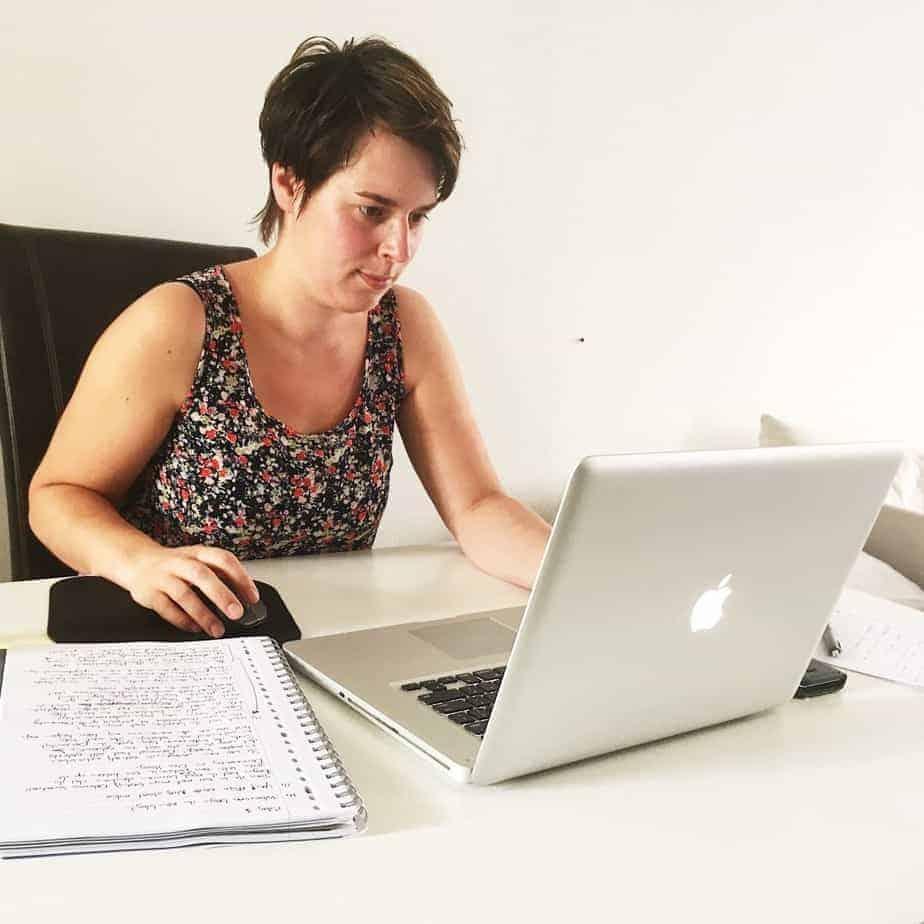 Kelly schrijft haar eerste blog