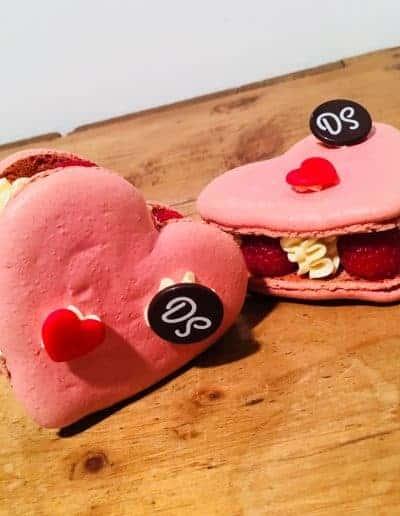 Valentijns gebak macaron DS Patisserie