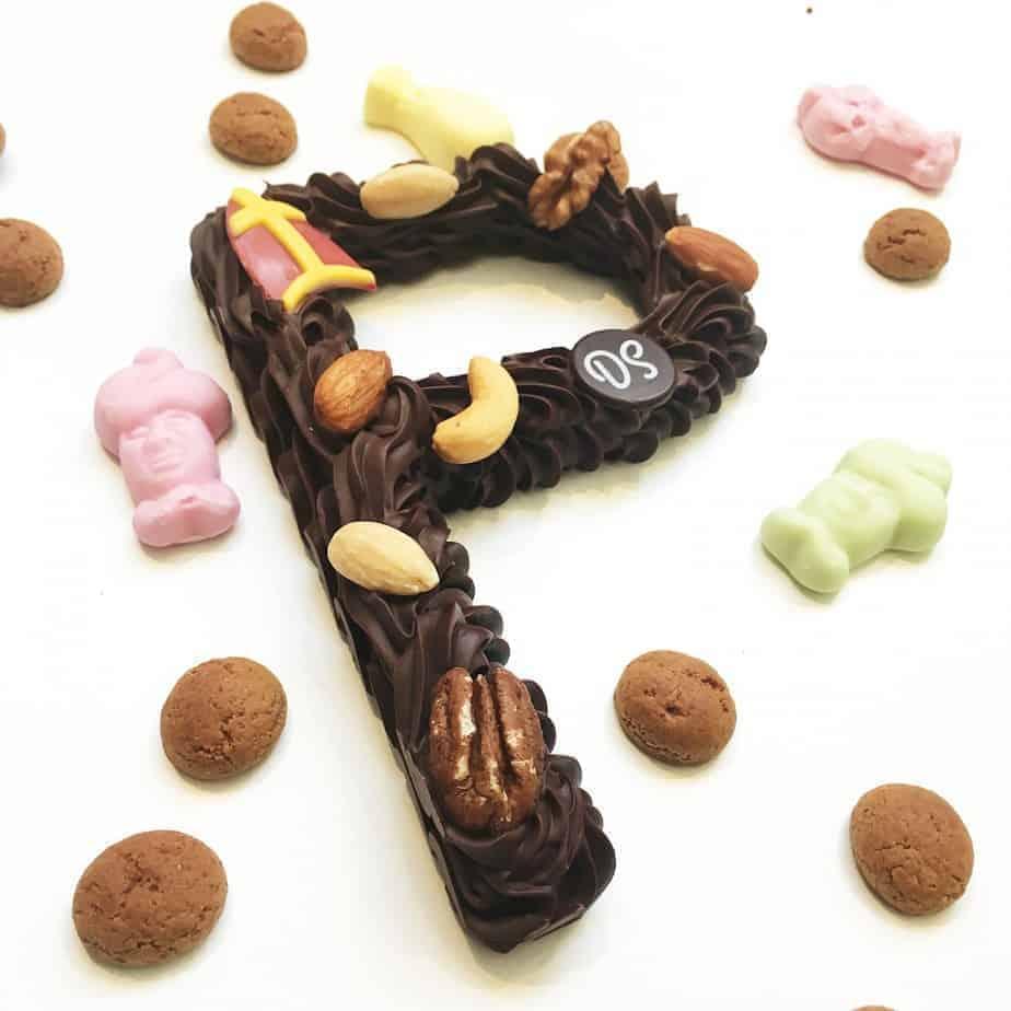 Chocoladeletter puur DS Patisserie