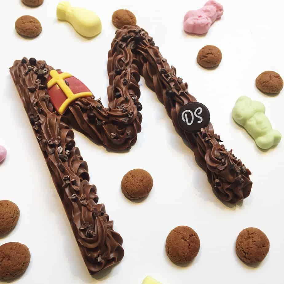 Chocoladeletter melk DS Patisserie