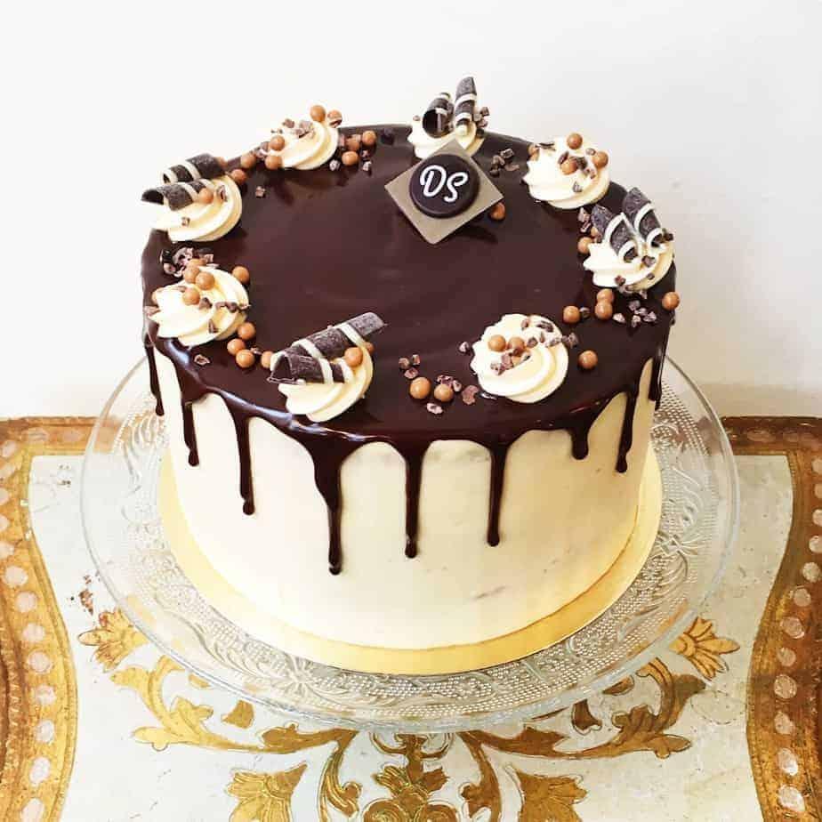 Caramel taart uit de Gâteaux Collection van DS Patisserie.