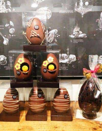 Chocolade paaseieren