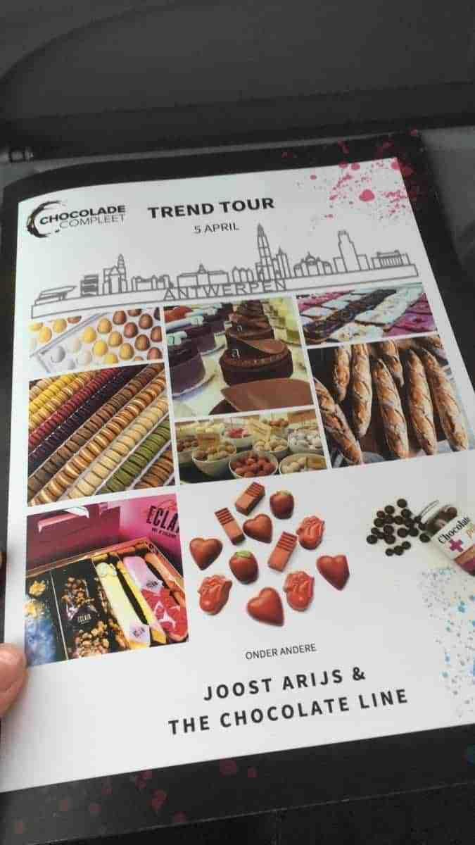 chocolade compleet trendtour antwerpen