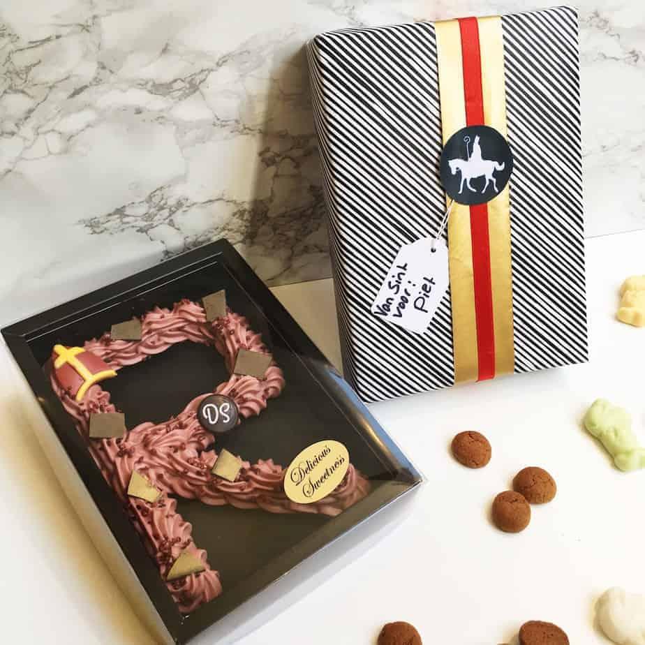 chocoladeletters door DS Patisserie