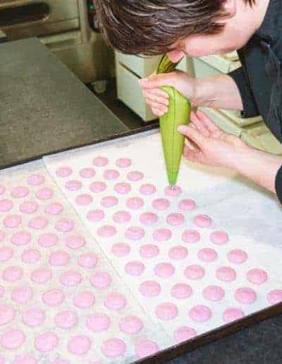 macarons opspuiten