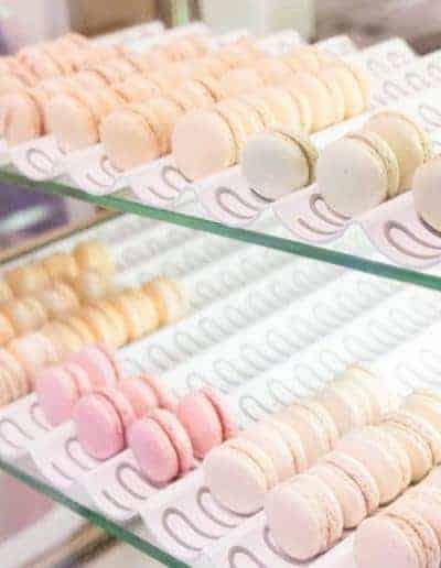 macarons vitrine