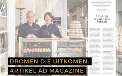 Dromen die uitkomen; AD Magazine